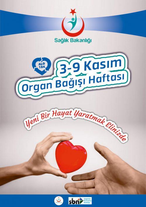 Organ Bağışı Afiş Tasarımı