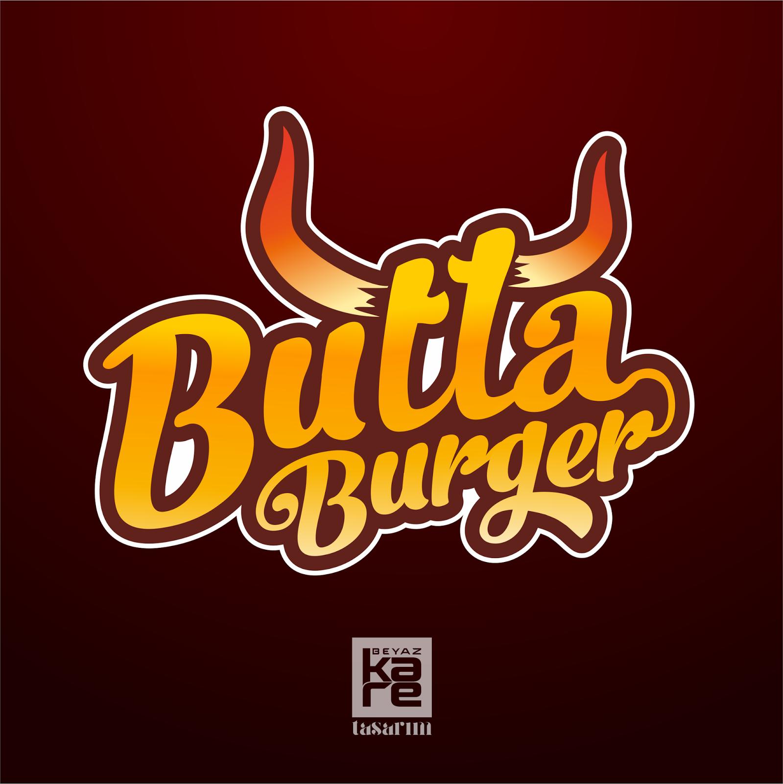Burger Logo Tasarımı