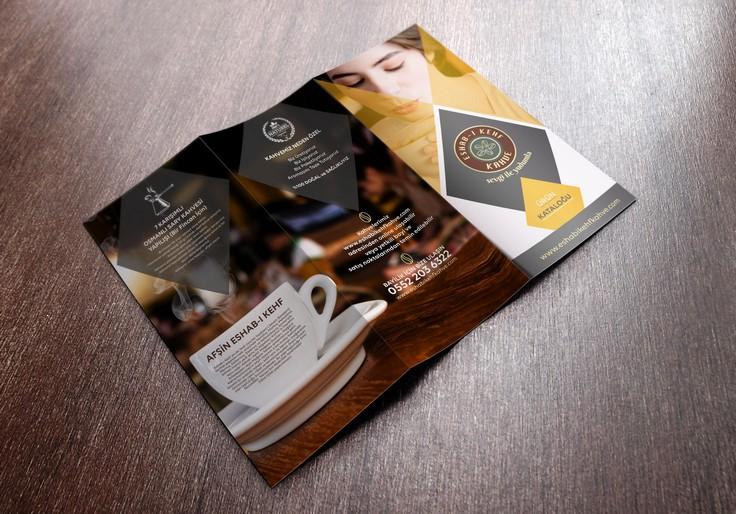 Kahve Ürün Broşür Tasarımı