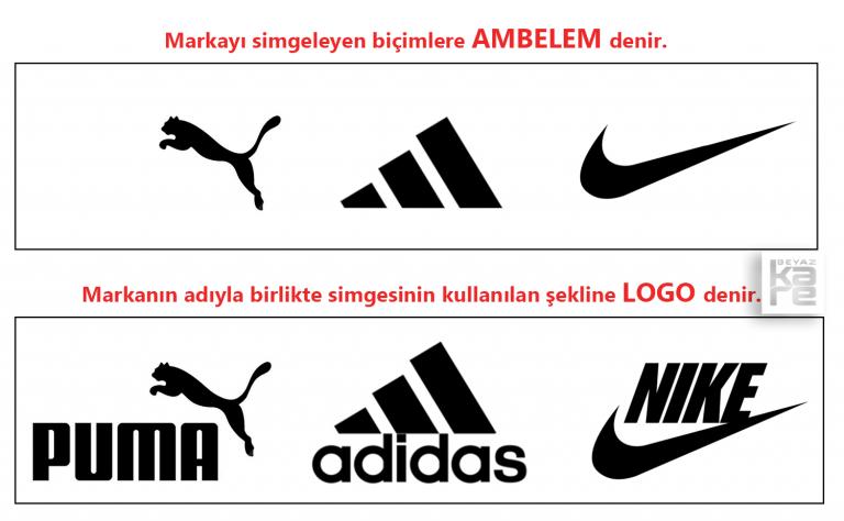 Logo Amblem Logotype Farkı Örnekleri