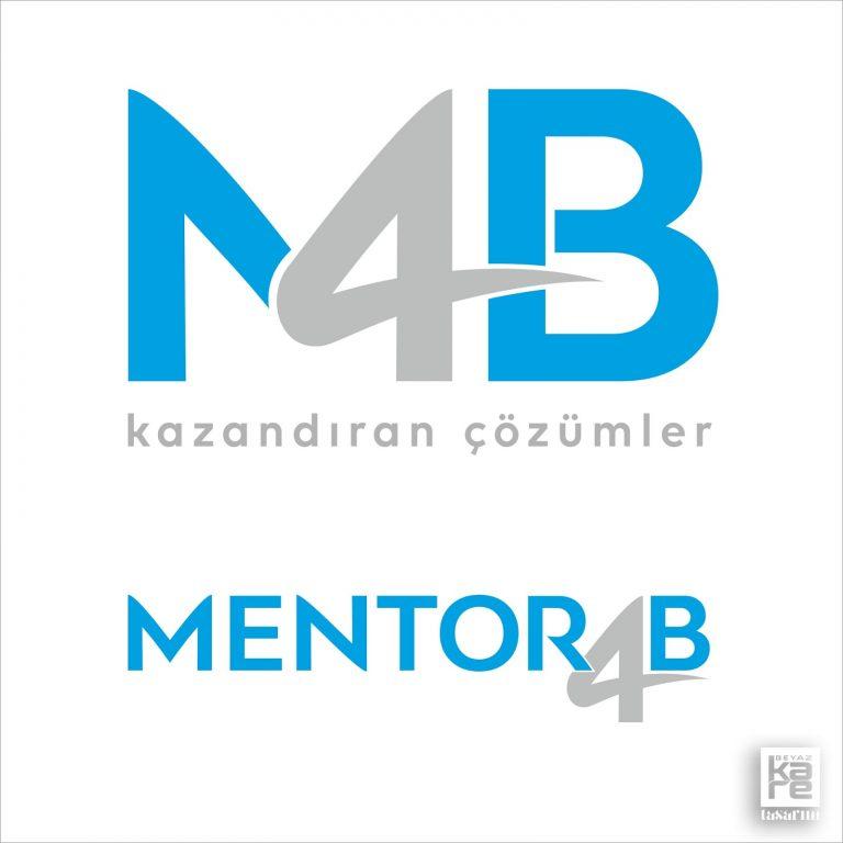 Mentor4B Logo Tasarımı