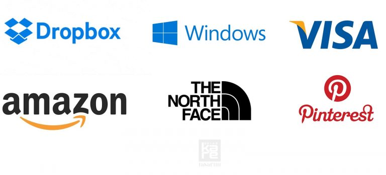 flat logo örnekleri