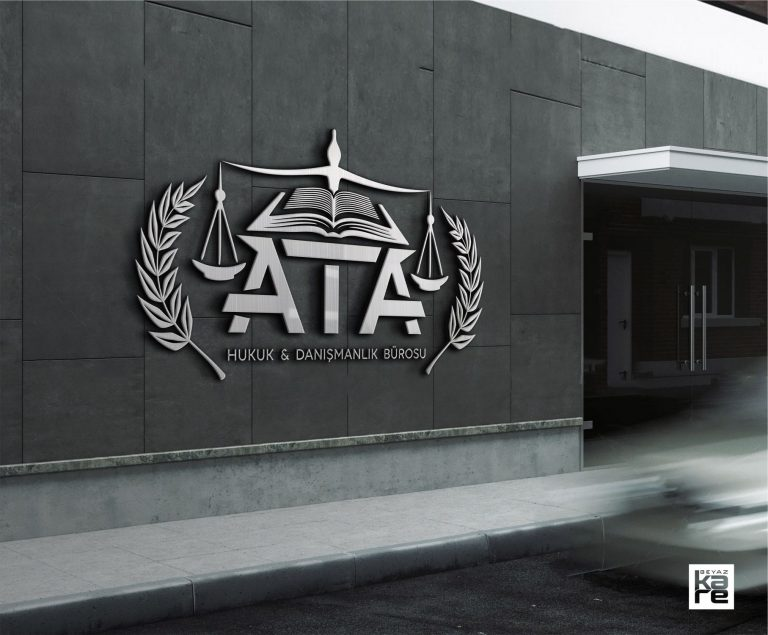 hukuk bürosu logo tasarımı
