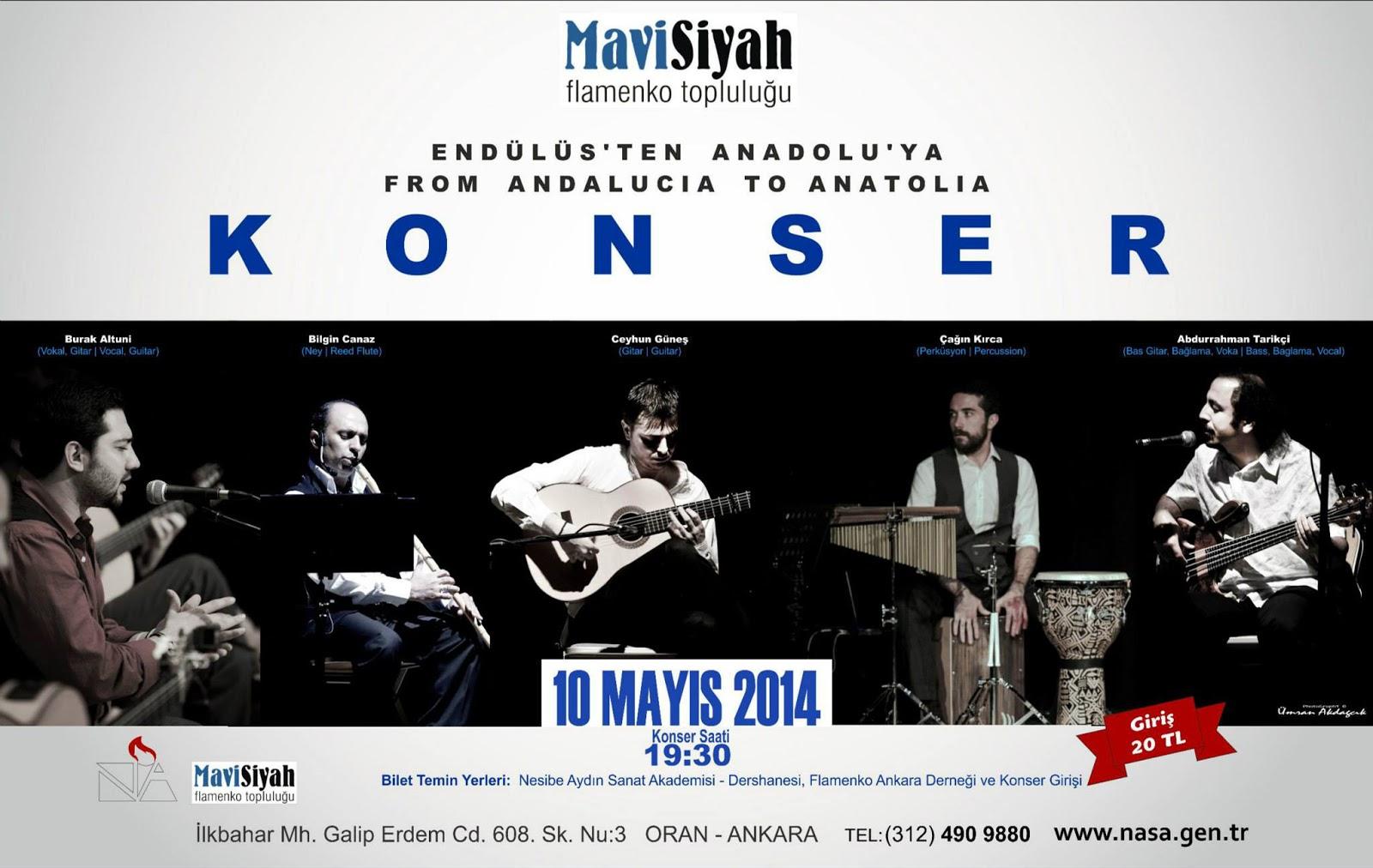 konser afiş tasarımı