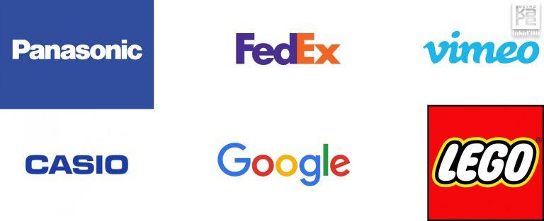 marka tipografik logo örnekleri