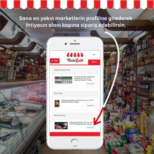 market sosyal medya tasarimi