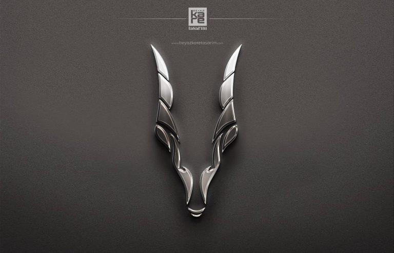 metalik logo dizayn