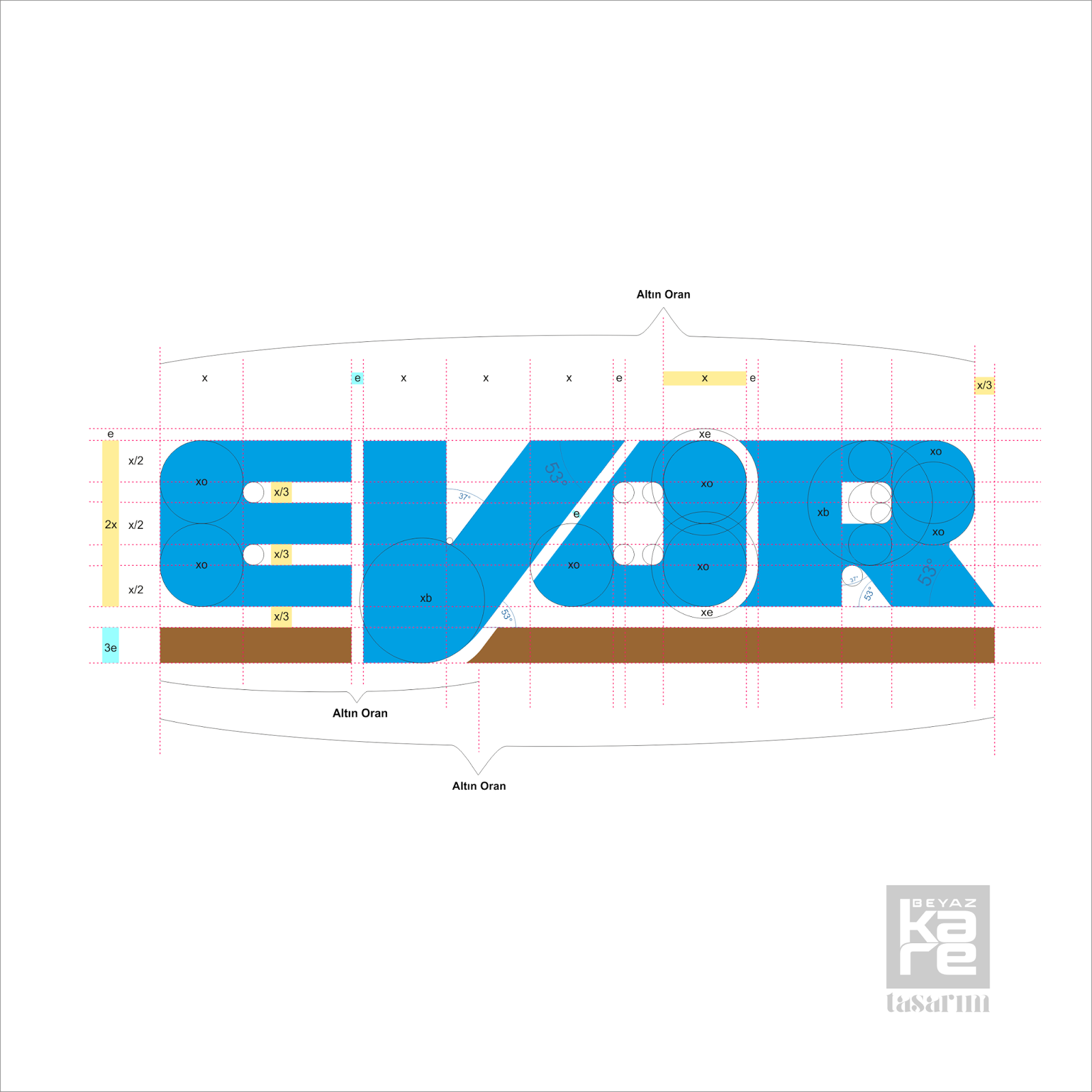 tipografik mühendislik logo tasarımı