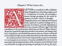 Tipografik Uzamın Tanımlanması ve Olasılıkları