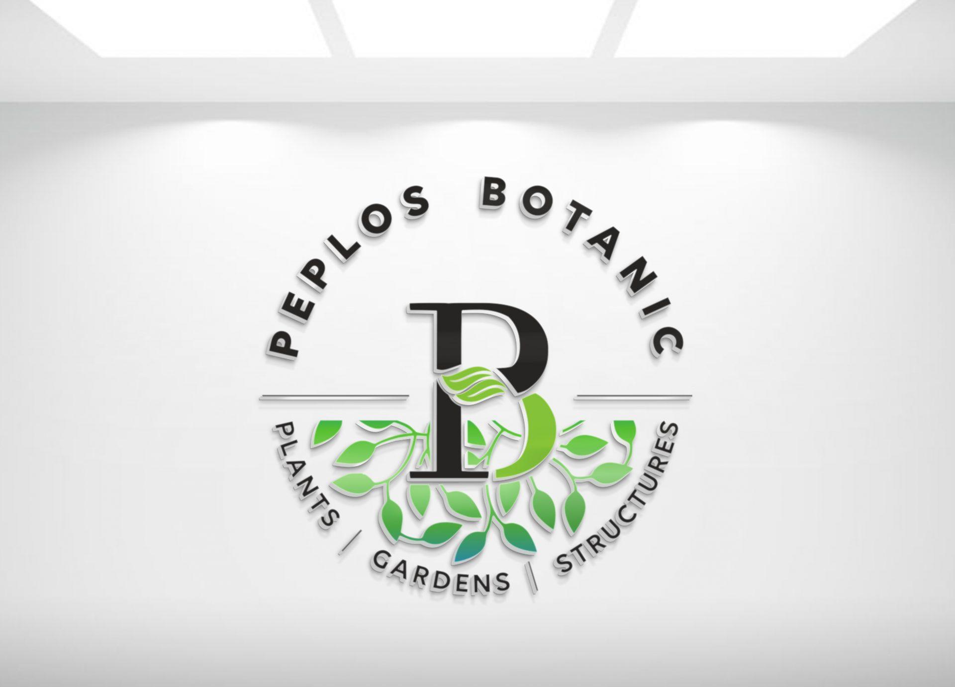 botanik bitki logo tasarımı
