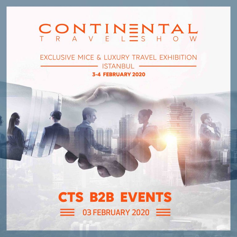 continental travel show poster