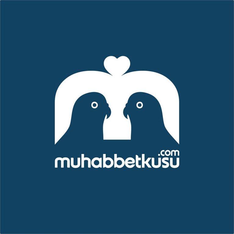 muhabbet kuşu logo tasarım