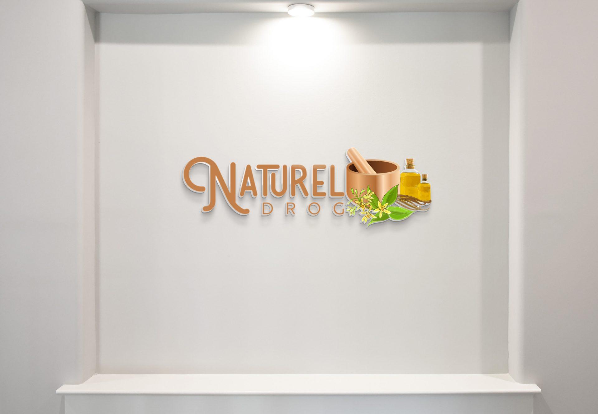 doğal bitki ve yağ logo tasarımı