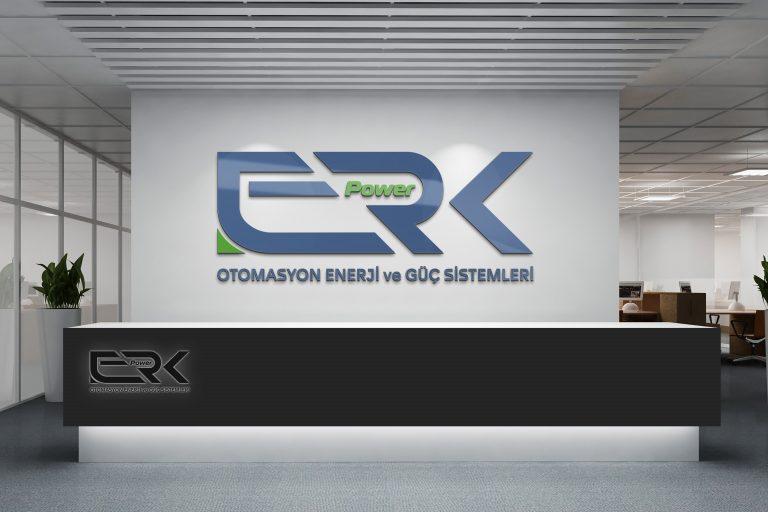 erk power logo tasarımı